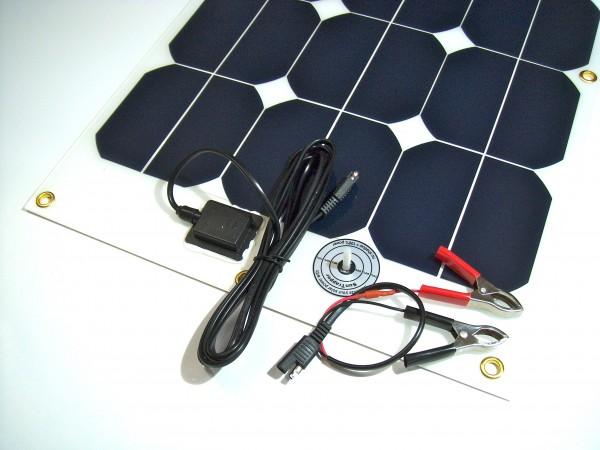 ChargeBatt 1.1, Solar-Lade-Set 40W für 12-Volt-Akkus