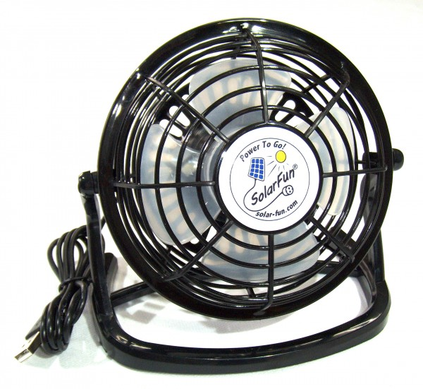 USBVent, USB-Ventilator für kühle Luft an heissen Tagen
