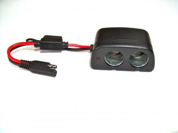 TwinOut, Doppel-Steckdose für KFZ-Stecker