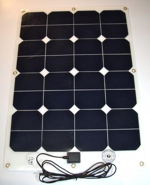 Hochleistungs- Solarmodul SFe 60-18, 60Watt/18V, leicht und flexibel