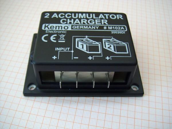 TwiceCharge, Akku-Weiche zum Laden von 2 Batterien