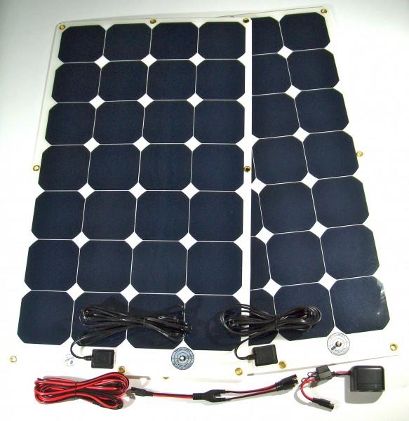 CoolSet 1.2, Strom für die Kühlbox, 2 Solarmodule