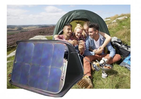 ideal für Camping und Festivals
