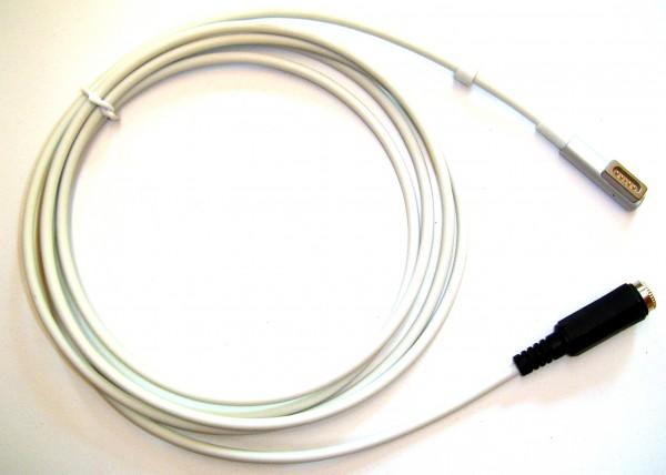 AdaptMac, Adapter von Hohlstecker 5,5mm auf MagSafe1 oder MagSafe2