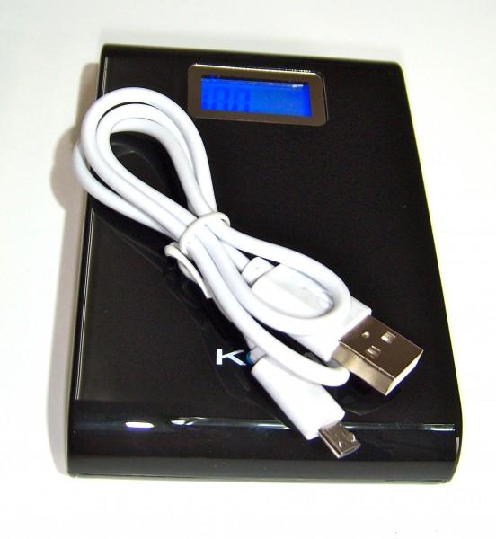 PowerBank 10.0, leistungsstarker USB- Stromspeicher mit 10.000mAh