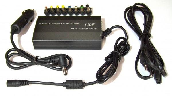 UniPower, universelle Stromversorgung 12-24V aus Solar, Netzstrom und 12V KFZ
