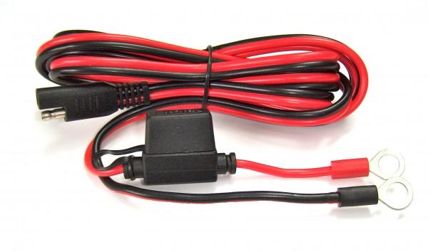 BattConn, Anschluss-Kabel Laderegler-Batterie