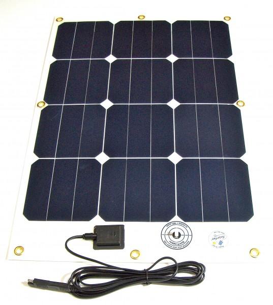 Hochleistungs- Solarmodul SFe 40-17, 40Watt/17V, leicht und flexibel